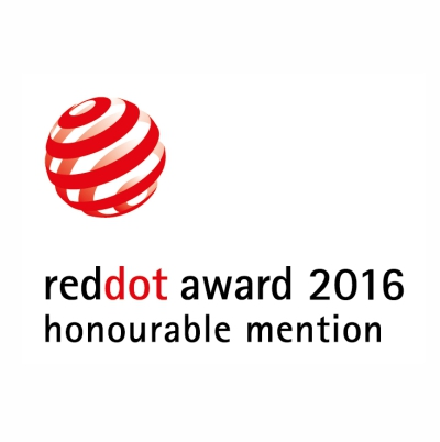 Awards - Red Dot Award 2016, honourable mention
